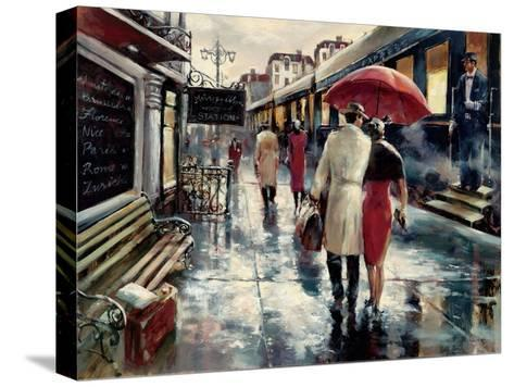 Metropolitan Station-Brent Heighton-Stretched Canvas Print