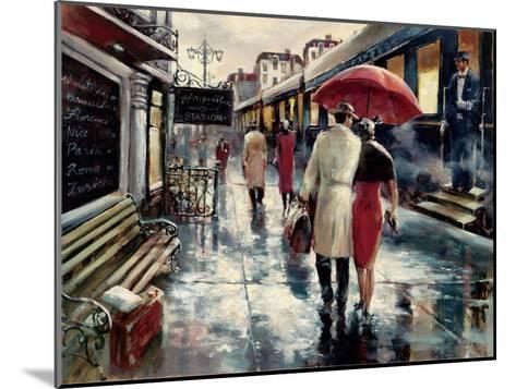 Metropolitan Station-Brent Heighton-Mounted Art Print