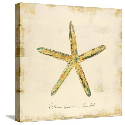 Gilded Ocean Starfish-Studio 5-Stretched Canvas Print