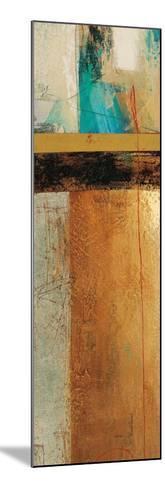 Ocaso Ochre 1-Gabriela Vilarreal-Mounted Art Print