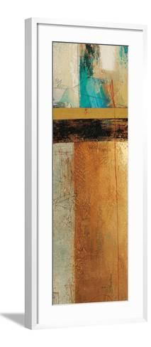 Ocaso Ochre 1-Gabriela Vilarreal-Framed Art Print