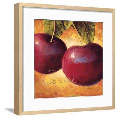Luscious Cherries-Marco Fabiano-Framed Art Print