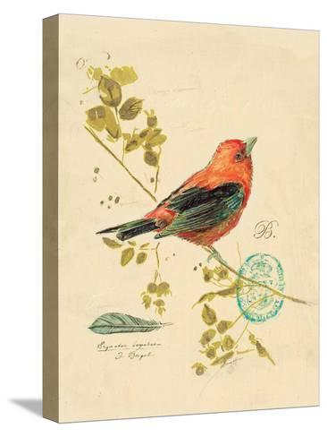 Gilded Songbird 3-Chad Barrett-Stretched Canvas Print