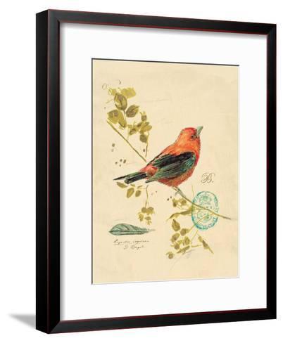 Gilded Songbird 3-Chad Barrett-Framed Art Print