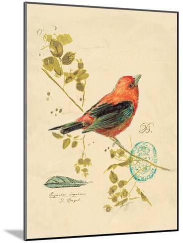 Gilded Songbird 3-Chad Barrett-Mounted Art Print