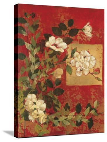 Textile Impressions 1-Matina Theodosiou-Stretched Canvas Print
