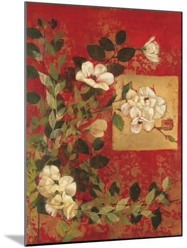 Textile Impressions 1-Matina Theodosiou-Mounted Art Print