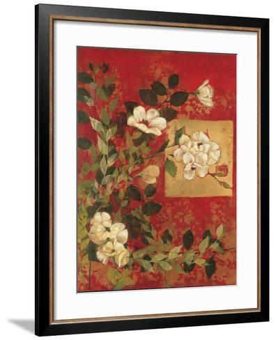 Textile Impressions 1-Matina Theodosiou-Framed Art Print