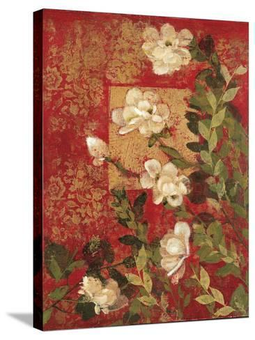 Textile Impressions 2-Matina Theodosiou-Stretched Canvas Print