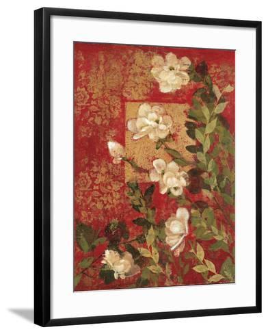 Textile Impressions 2-Matina Theodosiou-Framed Art Print