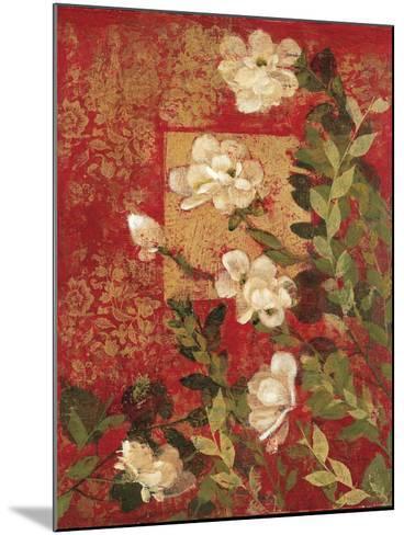 Textile Impressions 2-Matina Theodosiou-Mounted Art Print