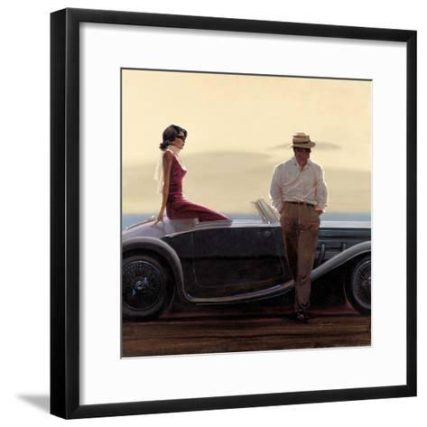 Coastal Drive-Brent Lynch-Framed Art Print