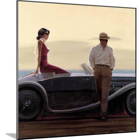 Coastal Drive-Brent Lynch-Mounted Art Print