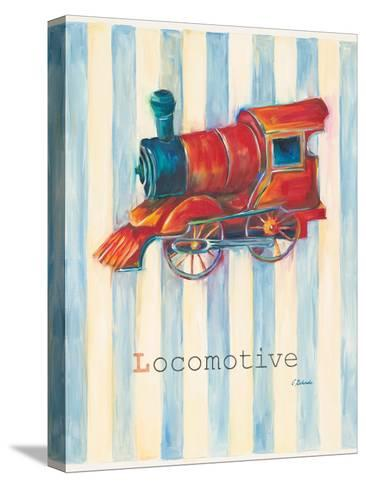 Locomotive-Catherine Richards-Stretched Canvas Print