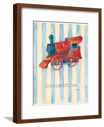 Locomotive-Catherine Richards-Framed Art Print