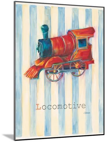 Locomotive-Catherine Richards-Mounted Art Print