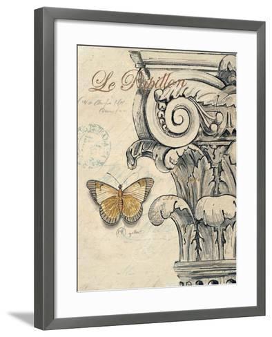 Capital Etching-Chad Barrett-Framed Art Print