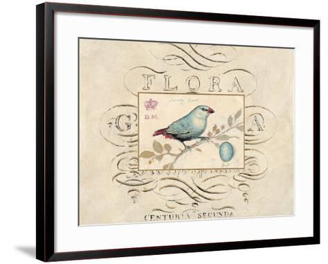 Songbird Etching 1-Chad Barrett-Framed Art Print