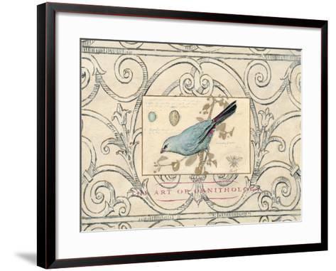 Songbird Etching 2-Chad Barrett-Framed Art Print