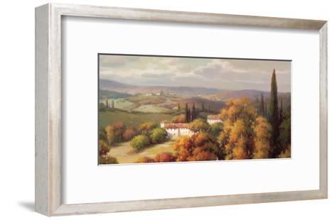 Tuscan Panorama-Vail Oxley-Framed Art Print