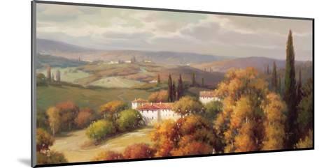 Tuscan Panorama-Vail Oxley-Mounted Art Print