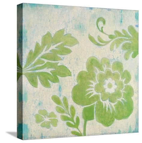 Green Floral-Hope Smith-Stretched Canvas Print