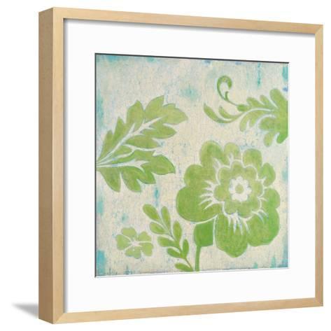 Green Floral-Hope Smith-Framed Art Print