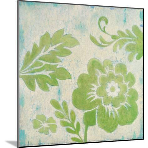 Green Floral-Hope Smith-Mounted Art Print