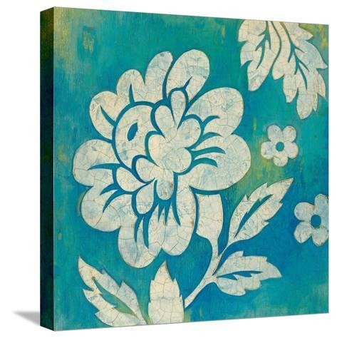 Blue Floral-Hope Smith-Stretched Canvas Print