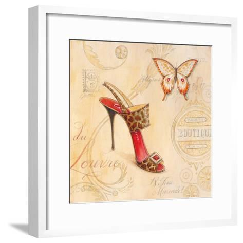 Sling Back Stiletto-Angela Staehling-Framed Art Print