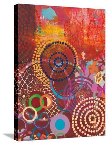 Textile Story-Jeanne Wassenaar-Stretched Canvas Print