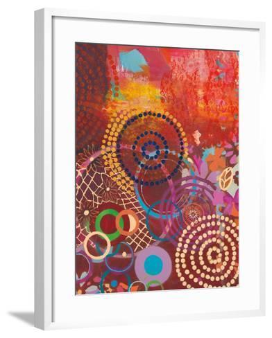 Textile Story-Jeanne Wassenaar-Framed Art Print