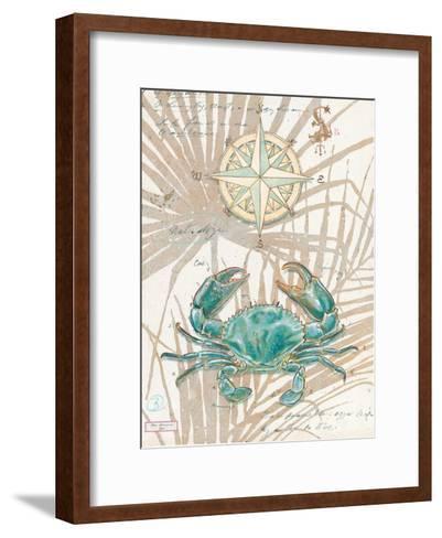 Directional Crab-Chad Barrett-Framed Art Print