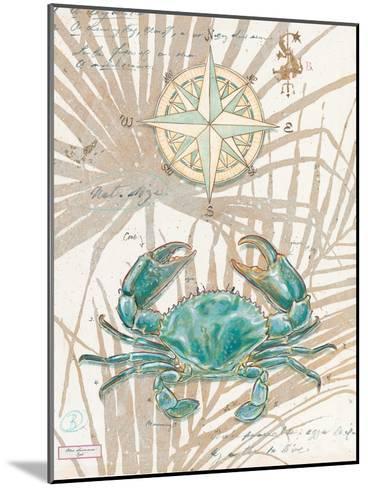 Directional Crab-Chad Barrett-Mounted Art Print