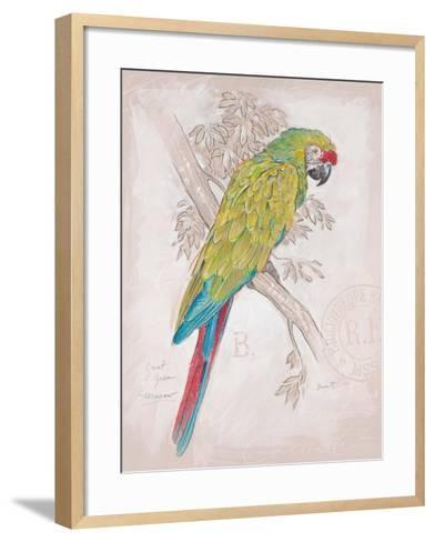 Chartreuse Tropical-Chad Barrett-Framed Art Print