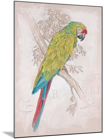 Chartreuse Tropical-Chad Barrett-Mounted Art Print