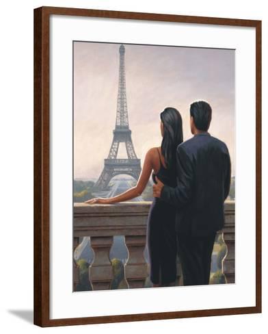 Big City Rendezvous-Myles Sullivan-Framed Art Print