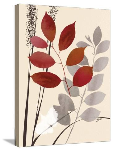 October Leaf 1-Bella Dos Santos-Stretched Canvas Print