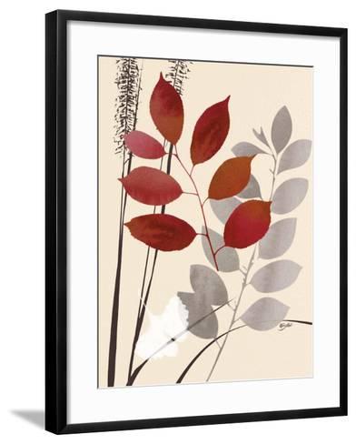 October Leaf 1-Bella Dos Santos-Framed Art Print