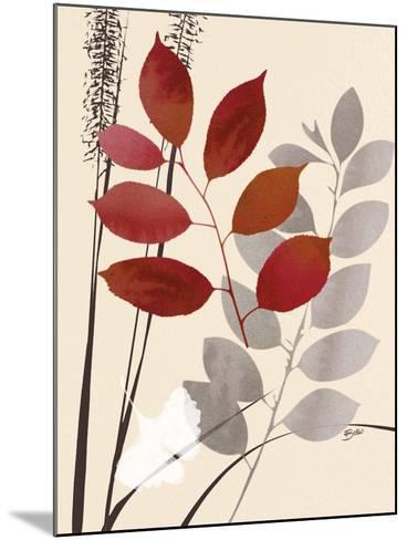 October Leaf 1-Bella Dos Santos-Mounted Art Print