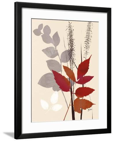 October Leaf 2-Bella Dos Santos-Framed Art Print