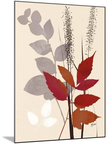 October Leaf 2-Bella Dos Santos-Mounted Art Print