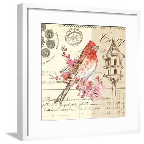 Bird Sketch 1-Chad Barrett-Framed Art Print