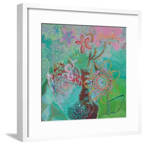 Bohemian Blooms-Jeanne Wassenaar-Framed Art Print