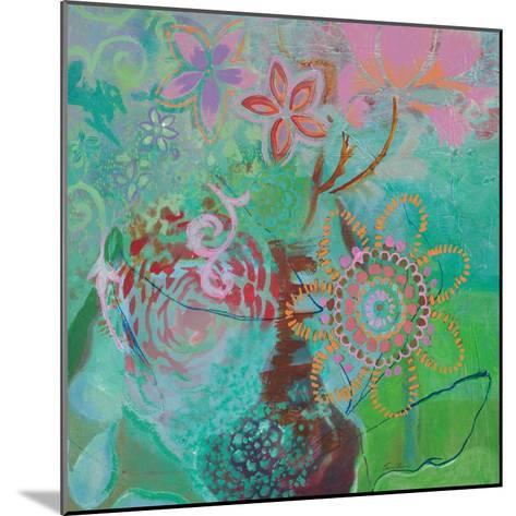 Bohemian Blooms-Jeanne Wassenaar-Mounted Art Print