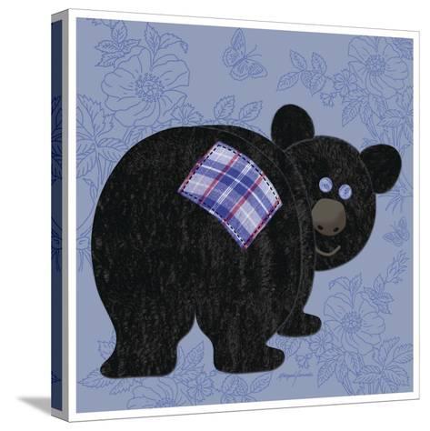 Funny Bear-Morgan Yamada-Stretched Canvas Print