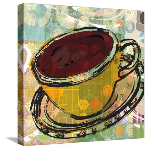 Sketched Coffee-Walter Robertson-Stretched Canvas Print