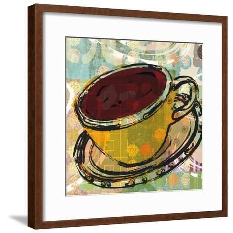 Sketched Coffee-Walter Robertson-Framed Art Print