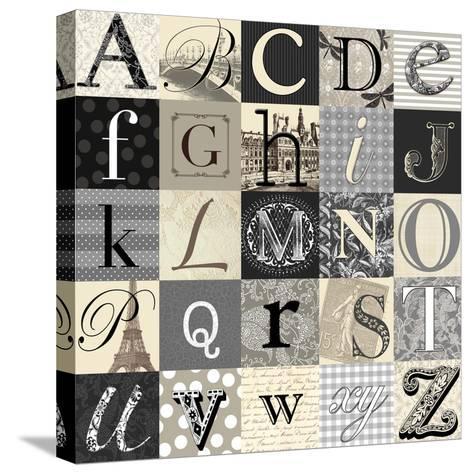 Designing Alphabet-Morgan Yamada-Stretched Canvas Print