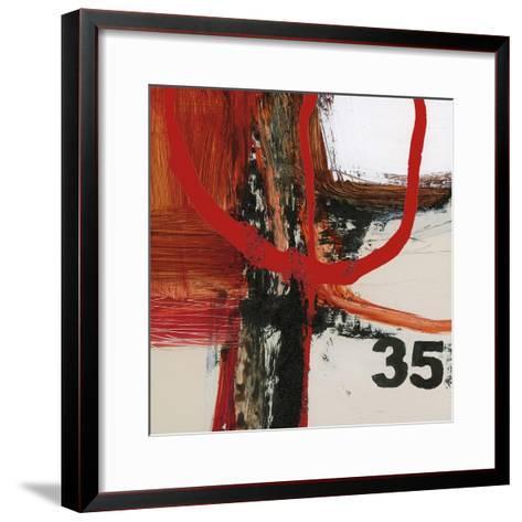 Abstract Digits-Natasha Barnes-Framed Art Print